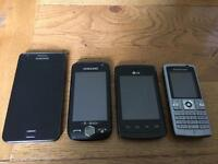 Samsung Galaxy S2 + others