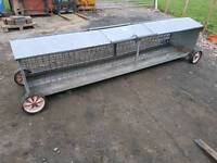 10ft sheep hay feeder rack in great condition livestock farm tractor