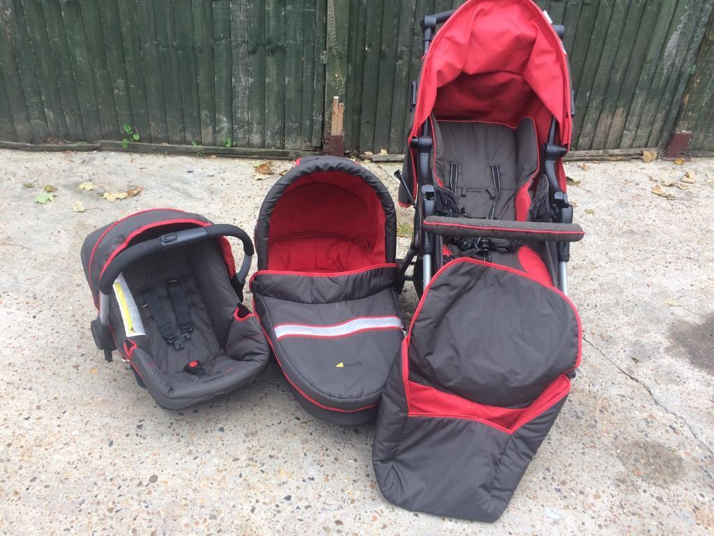 Hauck Apollo All in One Travel System