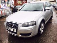 AUDI A3 SPORTBACK 2.0 TDI 140 SE 5 DOORS DIESEL MANUAL 6 SPEED LEATHER SEATS SATNAV