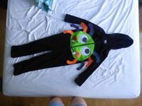 funny spider Halloween dressing-up costume, 7-8 yrs