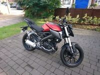 2016 YAMAHA MT 125cc. + SELECTION OF GEAR INCLUDED. **URGENT**