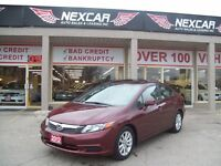 2012 Honda Civic EX AUT0 A/C SUNROOF ONLY 44K