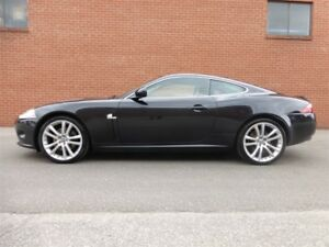 2007 Jaguar XK COUPE -- BLACK ON BLACK
