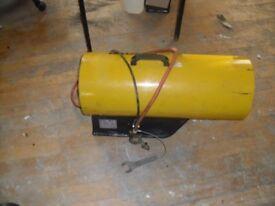 Garage propane space heater dual voltage 110./240v