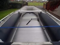 RIB BOAT with outboard Yamaha 15hp engine and accessories REVISED PRICING