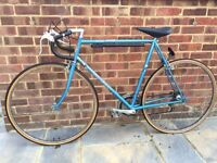 10speed Raleigh SunSolo Fast Road Bike Large 61cm Hitensile Steel Frame Very Good Ready Condition