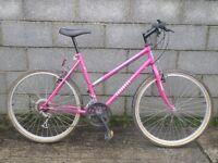 ladies bike pink 26'' townsend