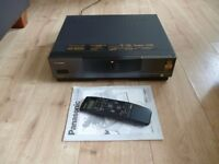 PANASONIC NV-HS1000B S VHS VCR VHS VIDEO RECORDER NVHS1000 #1