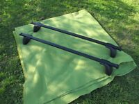 Halfords Car Roof Bars as New never used