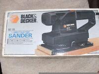 BLACK & DECKER SANDER - Boxed