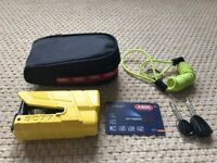 Disc lock with alarm - ABUS Granit Detecto 8077 X Plus.