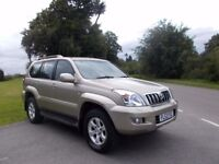 2003 53 TOYOTA LAND CRUISER LC3 D-4D 3.0 AUTOMATIC 7 SEATER