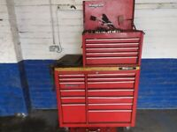 Snap on tool box fully loaded with tools