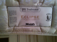 Single Bed, 2 drawers, Myers mattress, BRAND NEW !!