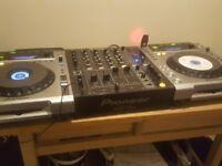 Pioneer Set CDj 850 & Mixet DJM 700 ( Not cdj 900)