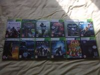 Xbox 360 Games £2 each or £20 the lot