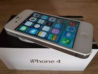 Apple iPhone 4 in White Boxed o2