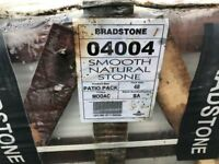 Bradstone Smooth Sand Stone paving Slabs (Modac)
