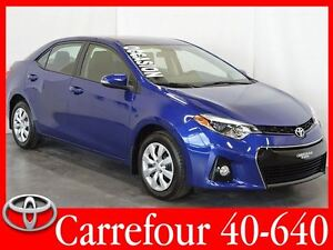 2015 Toyota Corolla S Bluetooth+Camera de Recul+Sieges Chauffant