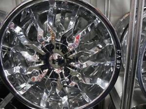 18 INCH NEW CHROME RIMS - DEEP DISH CABO WHEELS - 5X114.3 - NEW WHEEL SALE