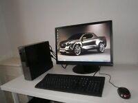 DELL OPTIPLEX 960 CORE 2 DUO PC+ 22 INCH MONITOR SETUP