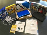 NINTENDO 3DS XL with games and accessories in excellent condition