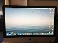 27 inch Imac 3.6ghz Intel i5 8mb ram 1Tb hard drive wireless keyboard, mouse and trackpad