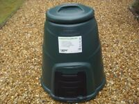 Compost Bin 220 litres with lid and front hatch - NEW