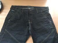 Bench men's black jeans