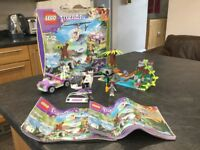 Lego friends jungle boat rescue 41036
