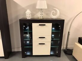 Large cabinet + glass-door cabinet - NEW