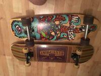 Skateboard and Mindless Calamari I Shortboard