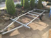 Car trailer chassis 17ftx6.5ft with breaks and suspension REDUCED