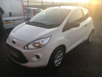 Ford KA 1.2 studio , Only £30 per year road tax, Low mileage, Cheap insurance group