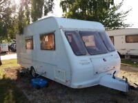 fleetwood moonlight 4 berth 2002 clean family caravan ready to go on holidays
