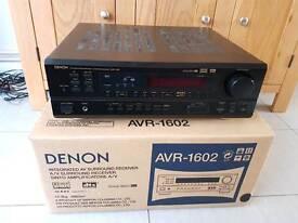 Denon AVR 1602 AV 5.1 surround sound amplifier