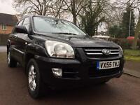 KIA SPORTAGE 2.0 XE 4WD ** HPI CLEAR ** BLACK LEATHER SEATS **