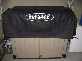 Cover for 'Outback' trolley barbecue.