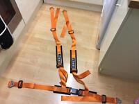Luke 1 harness in orange