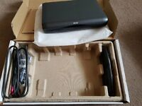 Sky HD box - DRX595L (non recording / Multiroom) - boxed with remote and cables