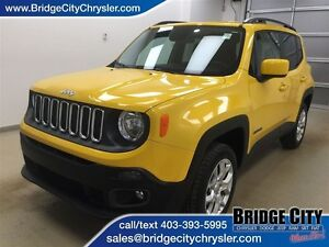 2015 Jeep Renegade North- Heated Seats and Wheel, Backup Cam, Bl