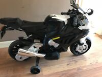 Child's BMW 12 volt ride on motorcycle