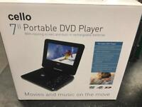 Cello portable DVD player