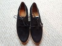 Brand New in Box, Women's Brogue Style Nubuck Lace Up