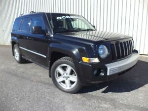 2010 Jeep Patriot Limited +4X4, Inspecté+