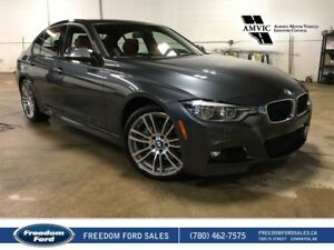 2016 BMW 3 Series Leather, Sunroof, Backup Camera