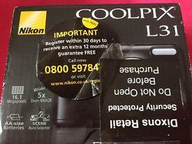 Nikon Coolpix Camera L31