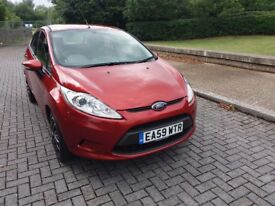 FORD FIESTA 1.4 STYLE+ (met Red) Very clean tidy car. Drives very well, Genuine miles Cat D
