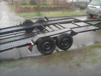 2,5 tonnes recovery trailer race car totally restored new every thing